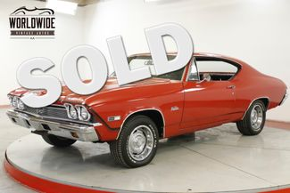1968 Chevrolet CHEVELLE SS  BIG BLOCK 396 V8 AUTO STAPLE SHIFT PS PB | Denver, CO | Worldwide Vintage Autos in Denver CO