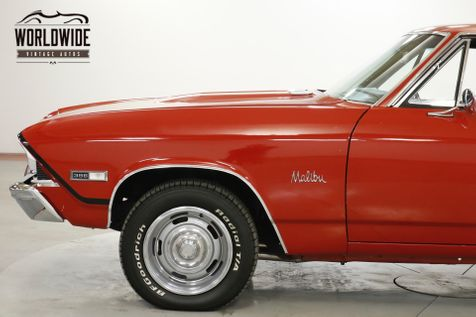 1968 Chevrolet CHEVELLE SS  BIG BLOCK 396 V8 AUTO STAPLE SHIFT PS PB | Denver, CO | Worldwide Vintage Autos in Denver, CO
