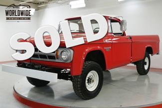 1968 Dodge POWER WAGON in Denver CO