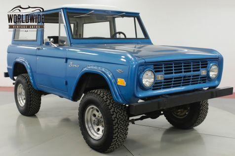 1968 Ford BRONCO 4x4 V8 MANUAL DRY AZ DESERT SUV CONVERTIBLE  | Denver, CO | Worldwide Vintage Autos in Denver, CO