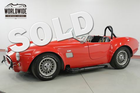 1968 Ford COBRA KIT  FACTORY FIVE SHELBY AC 5 SPEED V8 MUST SEE | Denver, CO | Worldwide Vintage Autos in Denver, CO