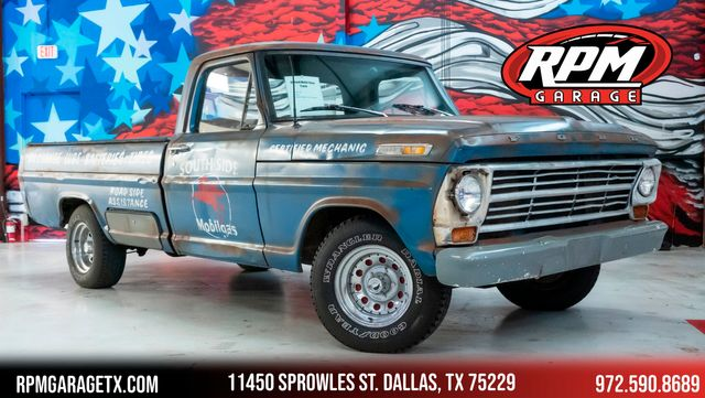 1968 Ford F100 Custom South Side Mobil Gas Pickup