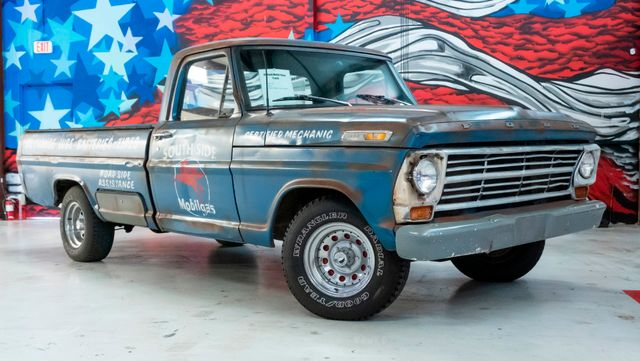 1968 Ford F100 Custom South Side Mobil Gas Pickup in Dallas, TX 75229