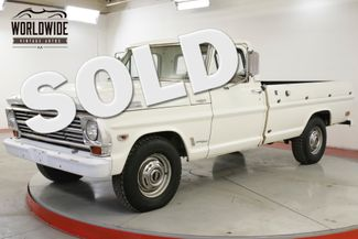 1968 Ford F250 PB PS 390 CID V8 C-6 AUTO TRANSMISSION | Denver, CO | Worldwide Vintage Autos in Denver CO