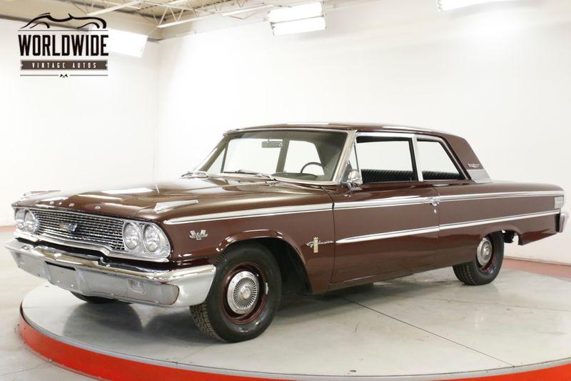 1963 Ford GALAXIE  ROTISSERIE RESTORATION 390 BIG BLOCK CHROME  | Denver, CO | Worldwide Vintage Autos