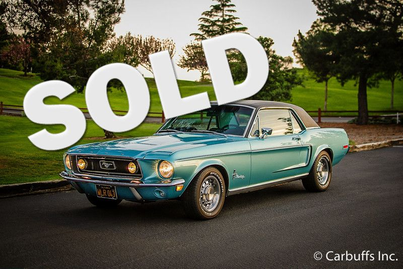 1968 Ford Mustang    Concord, CA   Carbuffs
