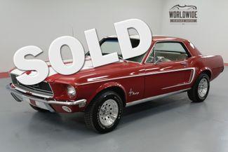 1968 Ford MUSTANG REBUILT 289 ENGINE BORED TO 304 | Denver, CO | Worldwide Vintage Autos in Denver CO