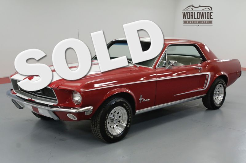 1968 Ford MUSTANG REBUILT 289 ENGINE BORED TO 304   Denver, CO   Worldwide Vintage Autos