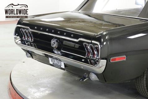 1968 Ford MUSTANG   CONVERTIBLE RESTORED TRIPLE BLACK 289 V8   Denver, CO   Worldwide Vintage Autos in Denver, CO