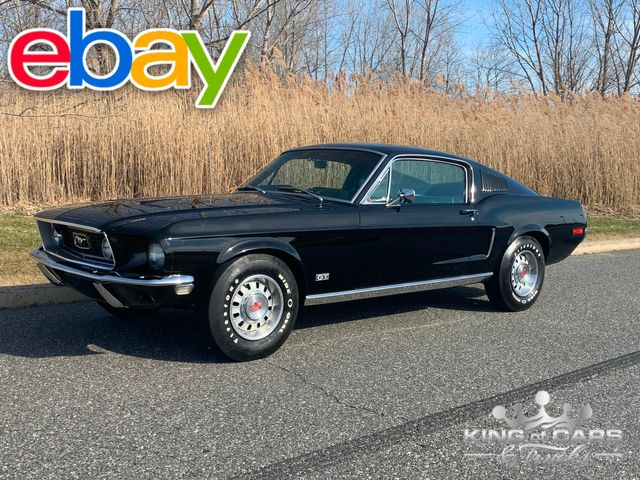 1968 Ford MUSTANG FASTBACK 390GT NUMBERS MATCHING