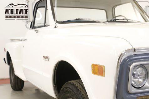1968 GMC 1500 350V8 SM465 4SPD 4X4 RARE STEP SIDE HALF TON | Denver, CO | Worldwide Vintage Autos in Denver, CO