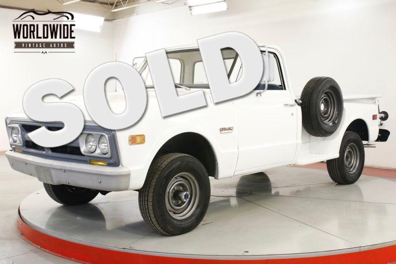 1968 GMC 1500 350V8 SM465 4SPD 4X4 RARE STEP SIDE HALF TON | Denver, CO | Worldwide Vintage Autos