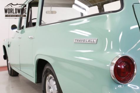 1968 International TRAVELALL 4SPD WITH OVERDRIVE UNMOLESTED COLLECTOR | Denver, CO | Worldwide Vintage Autos in Denver, CO