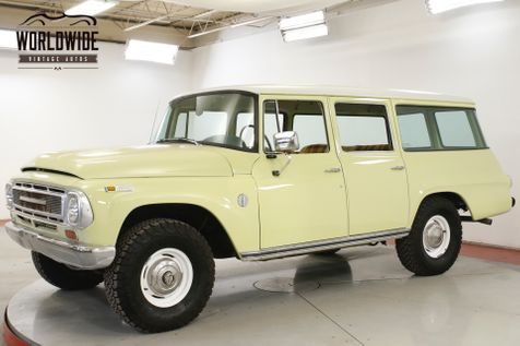 1968 International TRAVELALL FUEL INJECTED PB RARE RESTORED EARLY MODEL  | Denver, CO | Worldwide Vintage Autos in Denver, CO