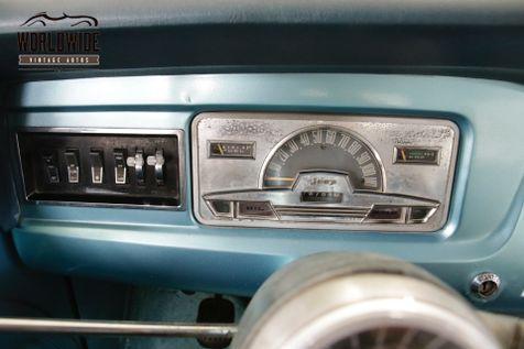 1968 Jeep COMMANDO  FRAME OFF RESTORED REMOVABLE TOP 4X4 | Denver, CO | Worldwide Vintage Autos in Denver, CO