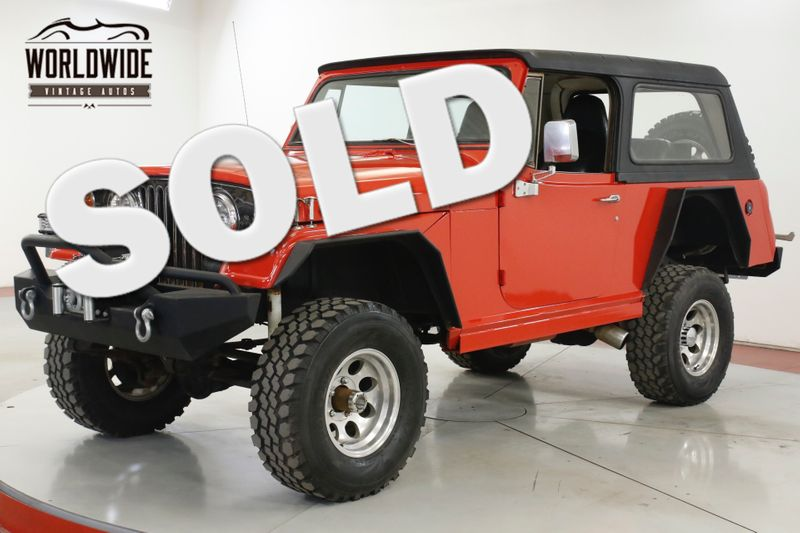 1968 Jeep COMMANDO JEEPSTER LIFTED WINCH HARDTOP AUTO NEW PAINT | Denver, CO | Worldwide Vintage Autos