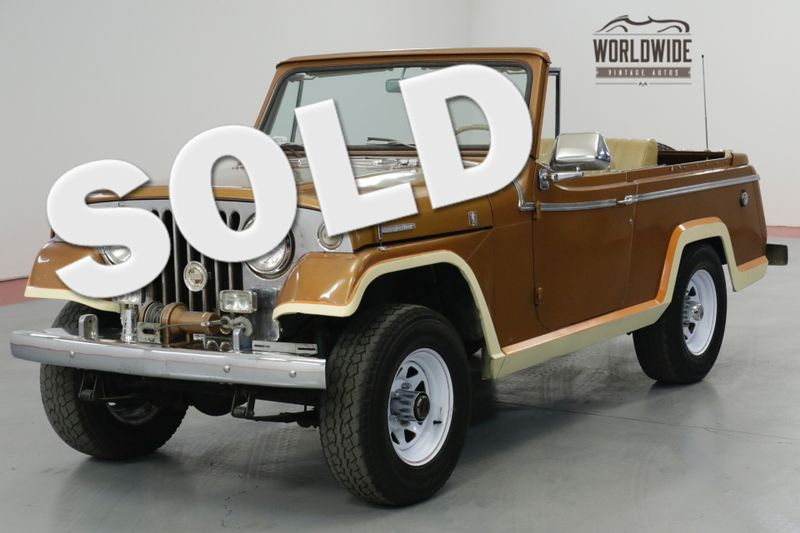 1968 Jeep JEEPSTER CONVERTIBLE 4X4  | Denver, CO | Worldwide Vintage Autos