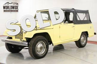 1968 Jeep JEEPSTER NEW TOP NEW PAINT COLLECTOR GRADE MUST SEE | Denver, CO | Worldwide Vintage Autos in Denver CO