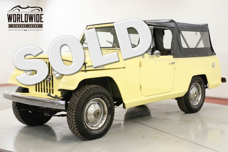 1968 Jeep JEEPSTER NEW TOP NEW PAINT COLLECTOR GRADE MUST SEE   Denver, CO   Worldwide Vintage Autos