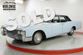 1968 Lincoln CONTINENTAL 460 V8 AUTO PW PS PB BEAUTIFUL    Denver, CO   Worldwide Vintage Autos in Denver CO