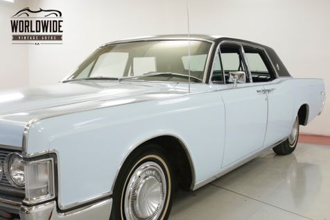 1968 Lincoln CONTINENTAL 460 V8 AUTO PW PS PB BEAUTIFUL    Denver, CO   Worldwide Vintage Autos in Denver, CO