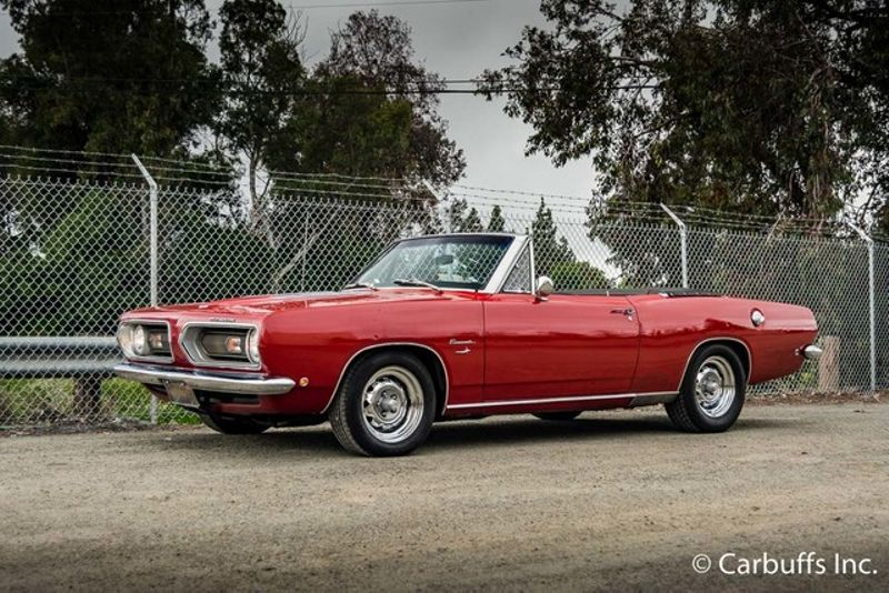 1968 Plymouth Barracuda  | Concord, CA | Carbuffs in Concord, CA