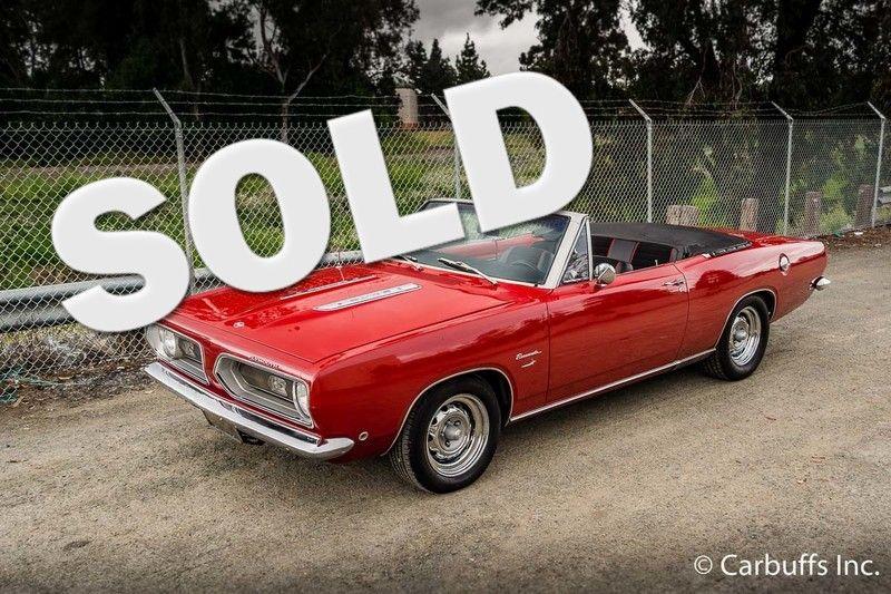 1968 Plymouth Barracuda  | Concord, CA | Carbuffs