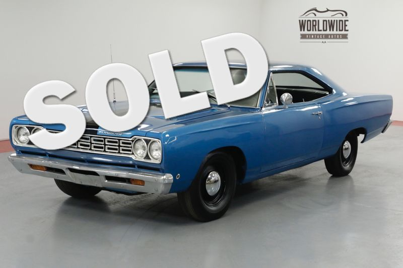 1968 Plymouth SATELLITE RARE. RESTORED. 383 V8 4V. 727. BUCKETS.   Denver, CO   Worldwide Vintage Autos