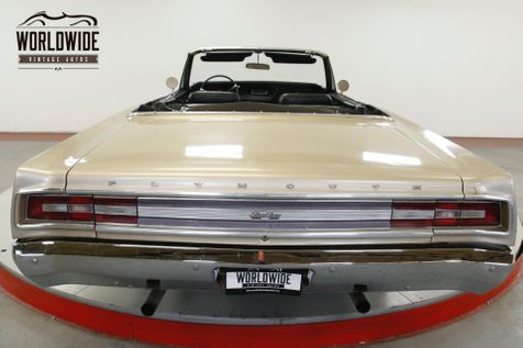1968 Plymouth SPORT FURY 383 PS PB POWER TOP CONVERTIBLE MUSCLE CAR | Denver, CO | Worldwide Vintage Autos in Denver, CO