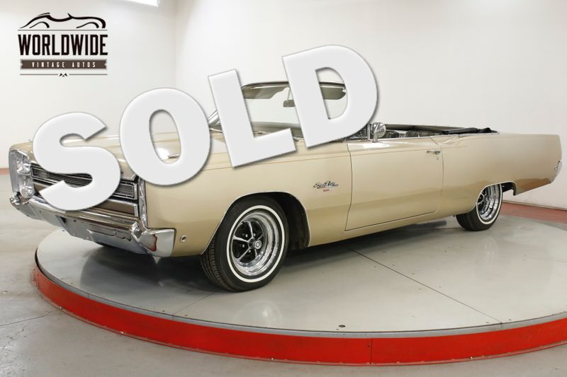 1968 Plymouth SPORT FURY 383 PS PB POWER TOP CONVERTIBLE MUSCLE CAR | Denver, CO | Worldwide Vintage Autos