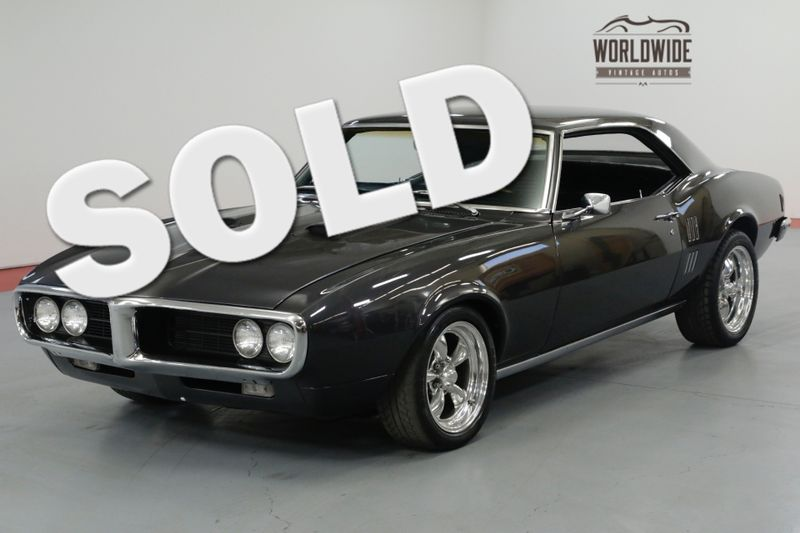 1968 Pontiac FIREBIRD REBUILT 350  | Denver, CO | Worldwide Vintage Autos