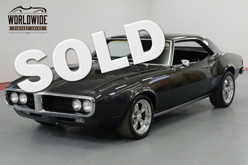 1968 Pontiac FIREBIRD 1968 PONTIAC FIREBIRD REBUILT 350  | Denver, CO | Worldwide Vintage Autos