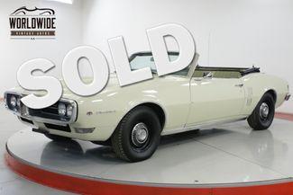 1968 Pontiac FIREBIRD CONVERTIBLE PS PB ORIGINAL   Denver, CO   Worldwide Vintage Autos in Denver CO