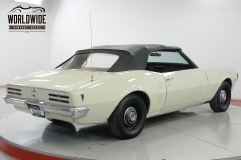 1968 Pontiac FIREBIRD CONVERTIBLE PS PB ORIGINAL | Denver, CO | Worldwide Vintage Autos in Denver, CO