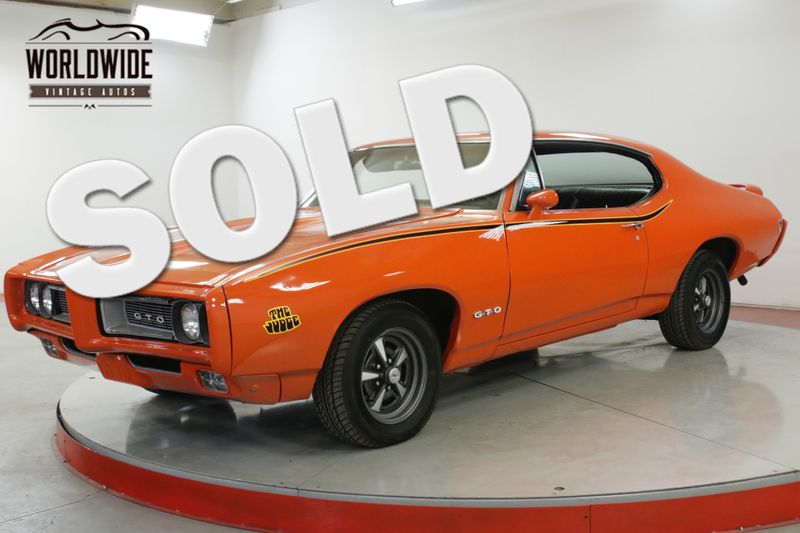 1968 Pontiac GTO JUDGE CLONE 350 V8 AUTO PS PB A/C DISC  | Denver, CO | Worldwide Vintage Autos