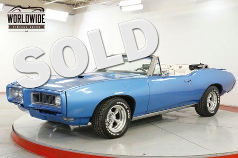 1968 Pontiac GTO BODY-OFF RESTORED CONVERTIBLE AC 400 V8 PS   Denver, CO   Worldwide Vintage Autos in Denver, CO
