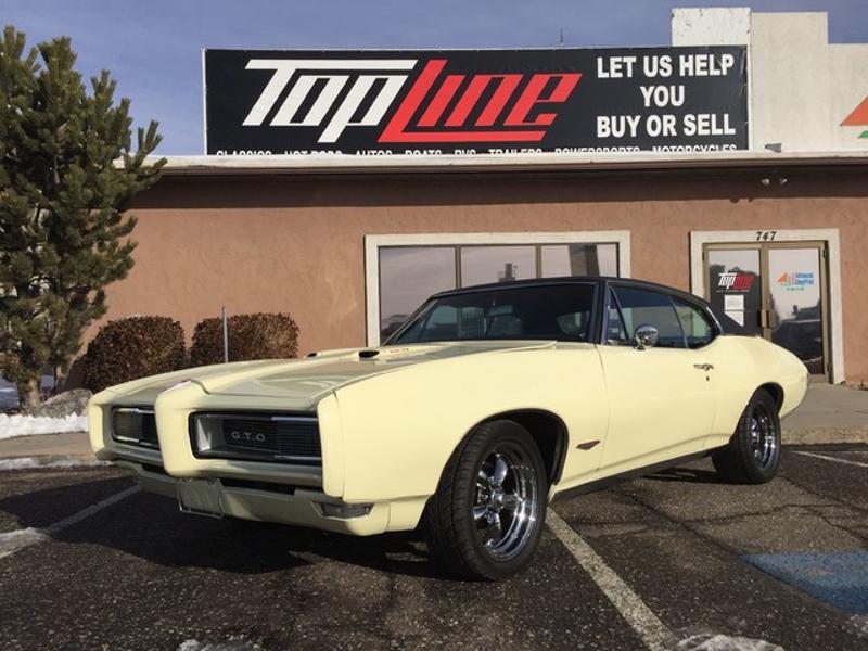 1968 Pontiac GTO  | Ogden, UT | Top Line Auto Sales