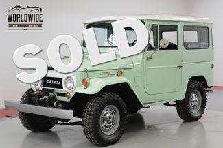 1968 Toyota FJ40 NUT AND BOLT RESTORATION RARE. SPRING GREEN   | Denver, CO | Worldwide Vintage Autos in Denver CO