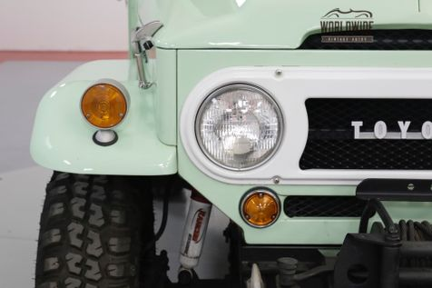1968 Toyota FJ40 NUT AND BOLT RESTORATION RARE. SPRING GREEN   | Denver, CO | Worldwide Vintage Autos in Denver, CO