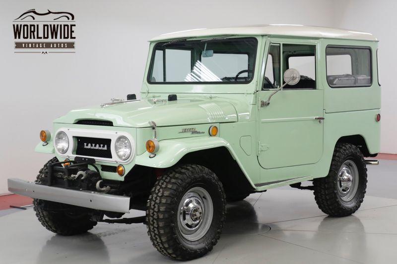 1968 Toyota FJ40 NUT AND BOLT RESTORATION RARE. SPRING GREEN   | Denver, CO | Worldwide Vintage Autos