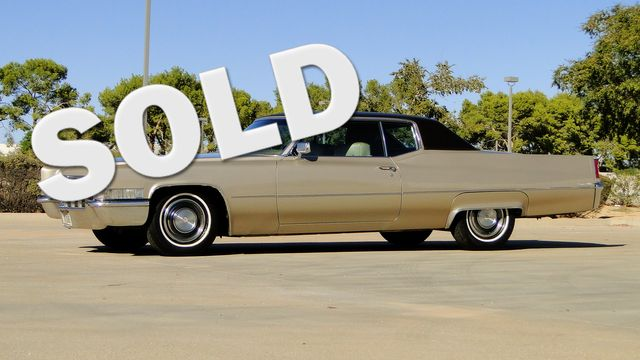 1969 Cadillac COUPE DeVILLE 472ci, A/C,P/W P/SEAT, TILT,CRUISE in Phoenix, Arizona 85027