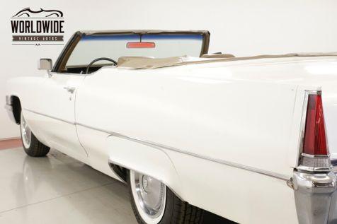 1969 Cadillac DEVILLE 7.7L 472 V8 AUTO PS PB SUMMER CRUISER  | Denver, CO | Worldwide Vintage Autos in Denver, CO