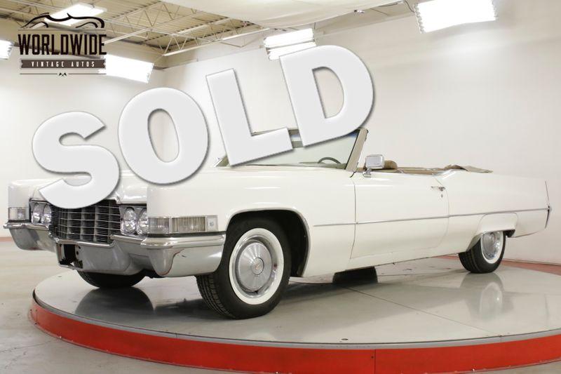 1969 Cadillac DEVILLE 7.7L 472 V8 AUTO PS PB SUMMER CRUISER  | Denver, CO | Worldwide Vintage Autos