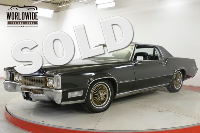 1969 Cadillac ELDORADO POWER STEERING POWER BRAKES 472 ENGINE | Denver, CO | Worldwide Vintage Autos in Denver CO