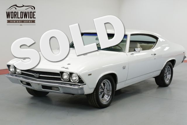 1969 Chevrolet CHEVELLE SS TRUE SS! 396 AUTO! UNRESTORED!  | Denver, CO | Worldwide Vintage Autos in Denver CO