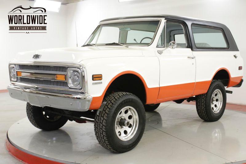 1969 Chevrolet BLAZER 350 V8 AUTOMATIC 4X4 PS PB REMOVABLE TOP | Denver, CO  | Worldwide Vintage Autos | Denver CO 80216