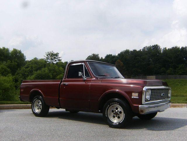 1972 Chevrolet C-10 Short Bed