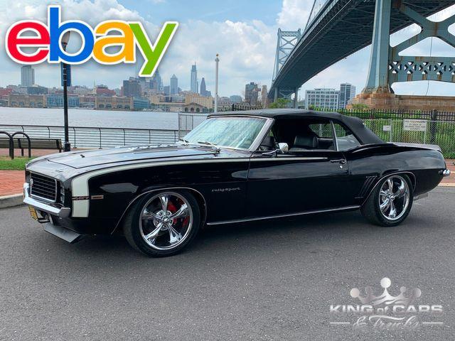 "1969 Chevrolet Camaro Convertible ""PRO MOD"" 454 KILLER CAR MUST SEE"