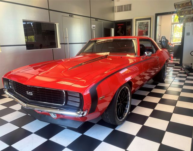 1969 Chevrolet CAMARO LS3 - SUPER CHARGER RED