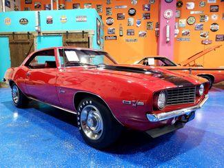 1969 Chevrolet CAMARO Z28 GARNET RED BLACK STRIPES in Mustang, OK 73064